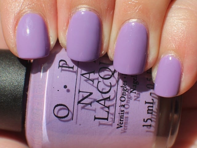 Light Parple-nail art designs