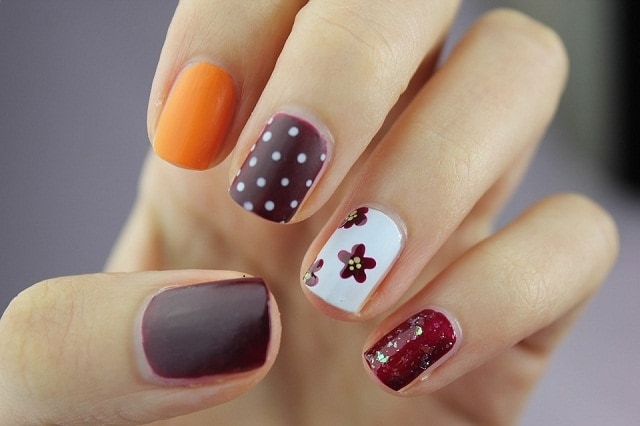Multi Cloro-easy nail polish designs