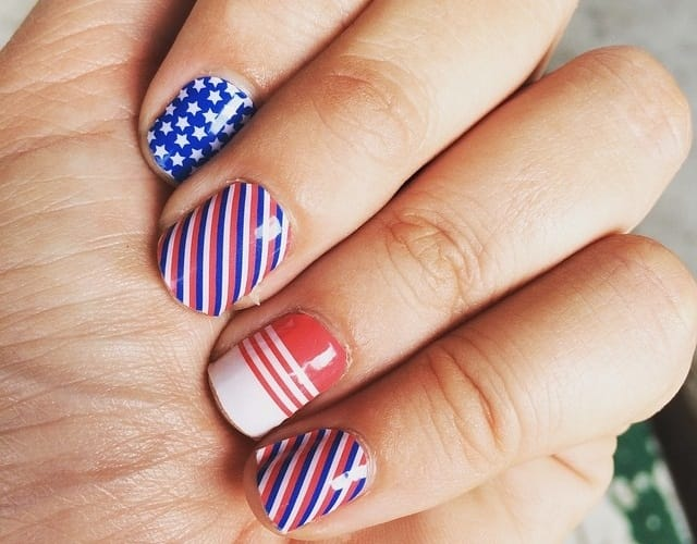 Multi-nail art designs