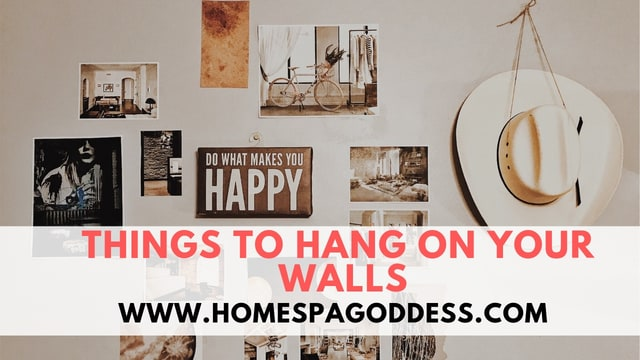 Things to hang on your walls home spa goddess - Things to put on a wall ...