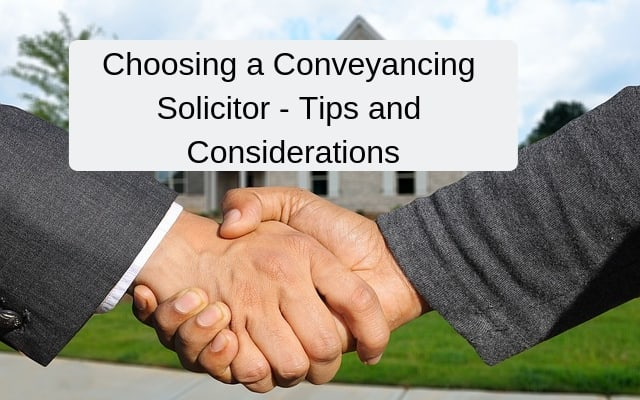 conveyancing solicitor