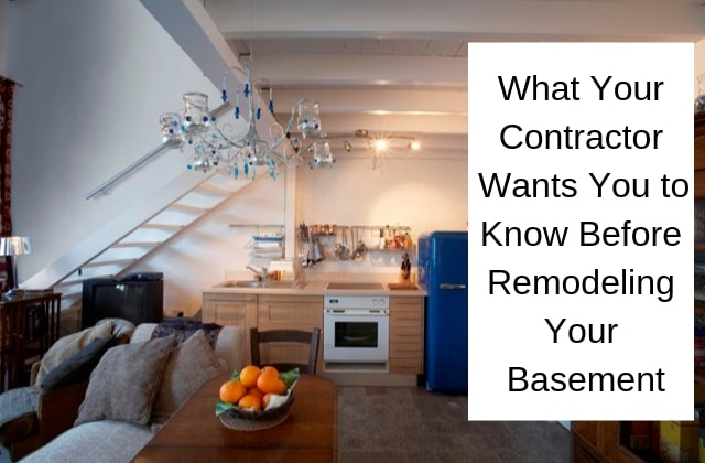Remodeling Your Basement